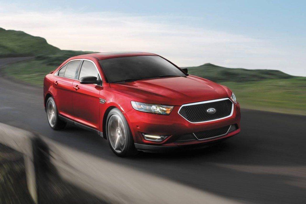 Ford Taurus為品牌內大型房車。 摘自Ford