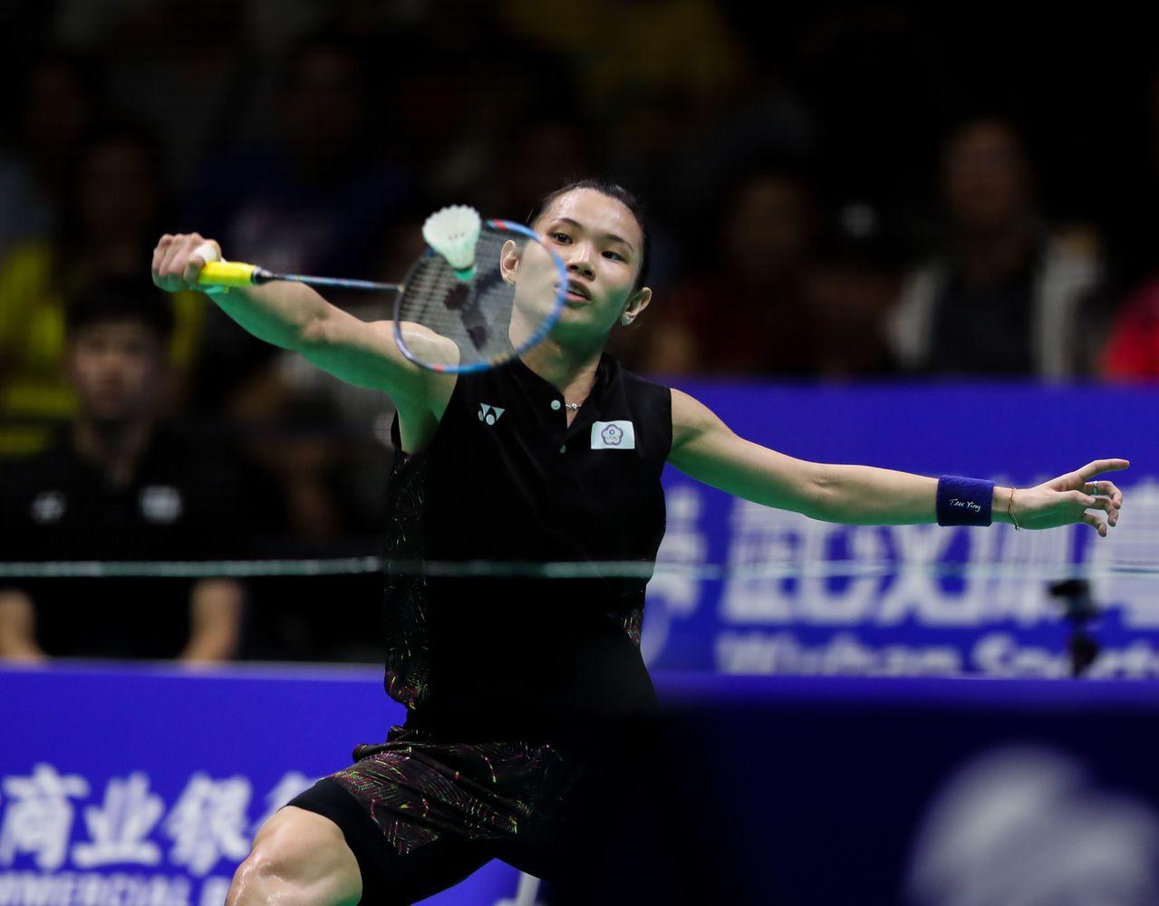 戴資穎贏得亞錦賽女單冠軍。 中新社