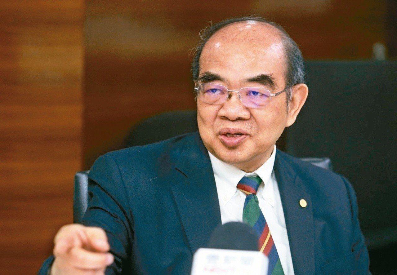 教長吳茂昆。本報資料照