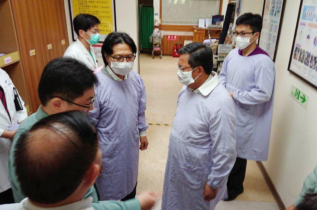獲救消防員清醒 呂宗郁寫下「其他人有出來嗎」