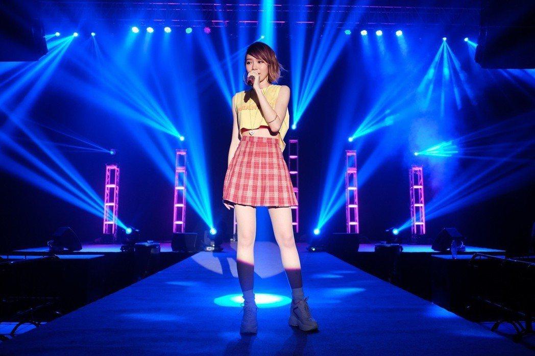 林明禎28日在澳門舉辦粉絲見面音樂會。圖/種子音樂提供