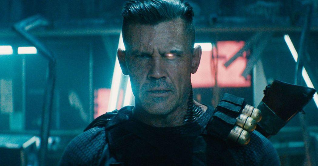 喬許布洛林在「死侍2」中擔任死侍的最佳戰友及勁敵「機堡」。圖/摘自推特