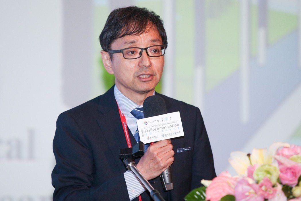 EIM日本區經理、大阪產業大學教授 Dr. Shinji Sato出席預防衰弱...