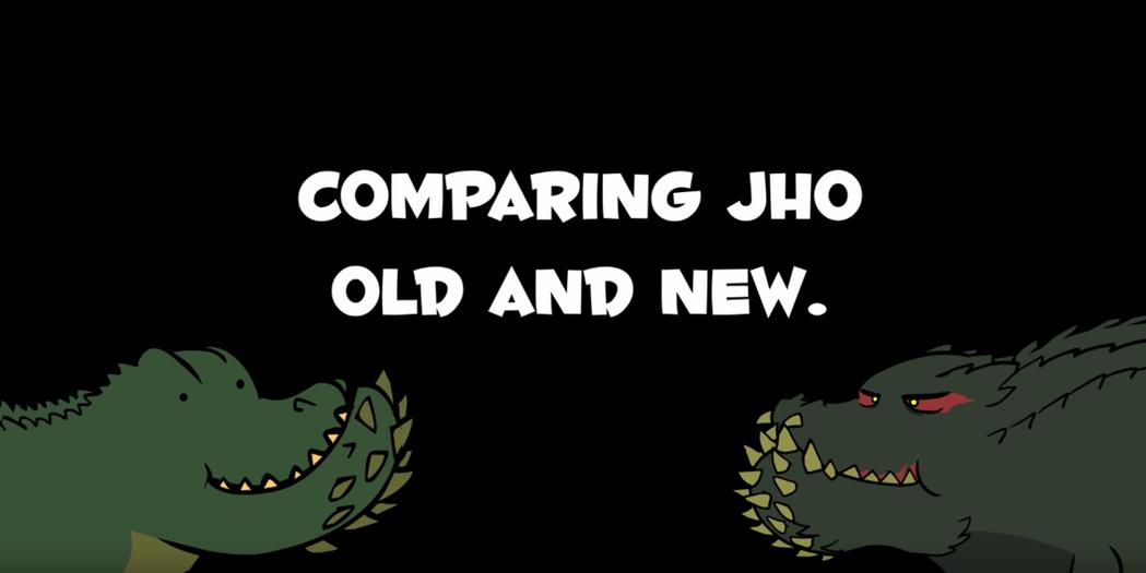 新舊恐暴龍超級比一比。