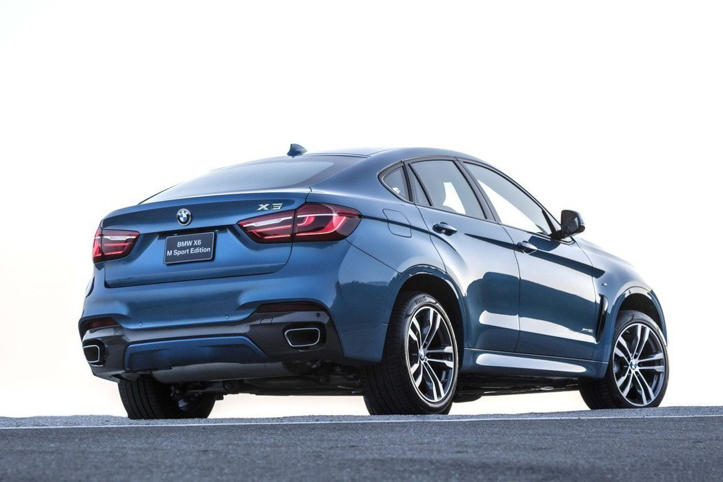 全新BMW X6 M Sport Edition。 圖/汎德提供