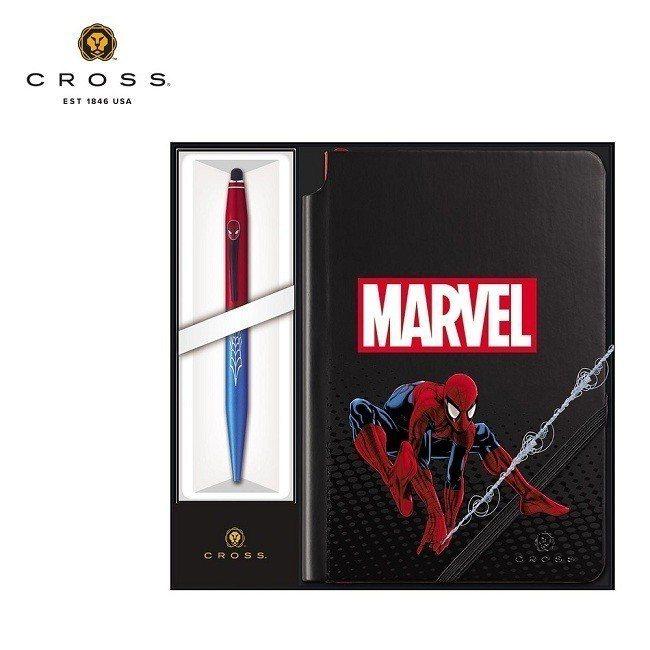 原價2,600元的CROSS Tech2 Marvel 蜘蛛人觸控原子筆+筆記本...