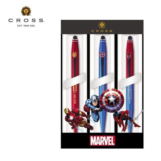 原價3,800元的漫威CROSS Tech2 Marvel 復仇者聯盟觸控原子筆...