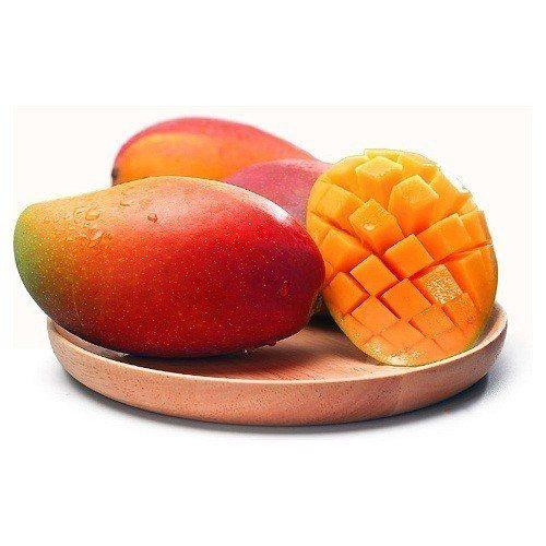 原價880元的坤田水果 愛文芒果(1箱)單箱5台斤9-12顆,特價只要556元。...