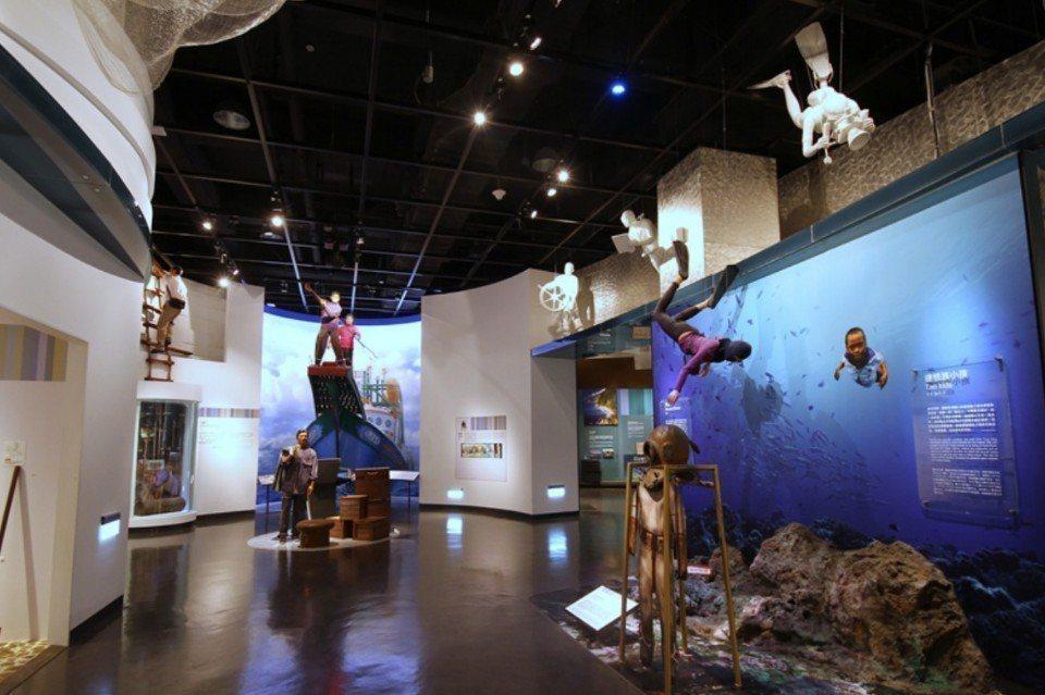 國立海洋科技博物館主題館。