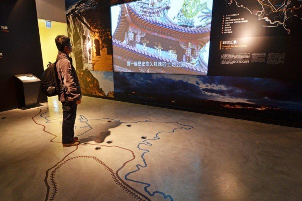 國立海洋科技博物館區域探索館。