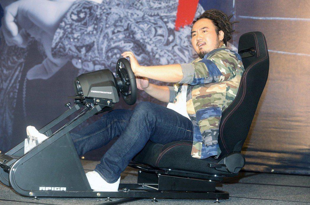 Matzka 發行新專輯《Matzka Station》,唱片公司送上電玩賽車椅...