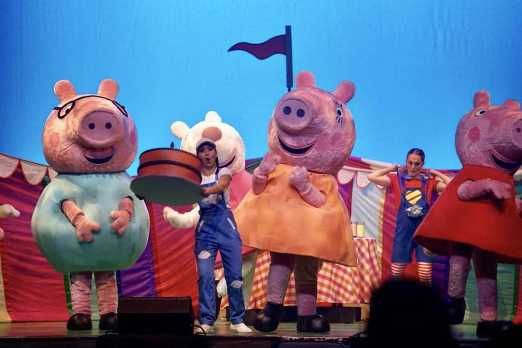 風靡全球的「粉紅豬小妹」佩佩將登台。圖/華研音樂提供