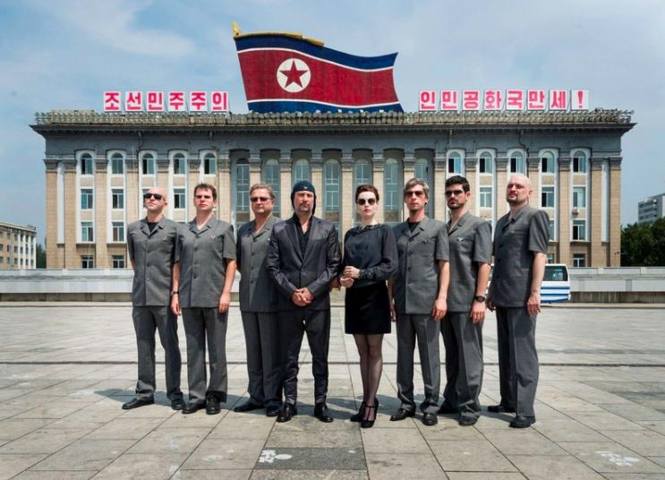 「北韓搖滾解放日」記錄第一支受邀進入北韓演出的西方樂團的「奇幻旅程」。圖/翻面映...