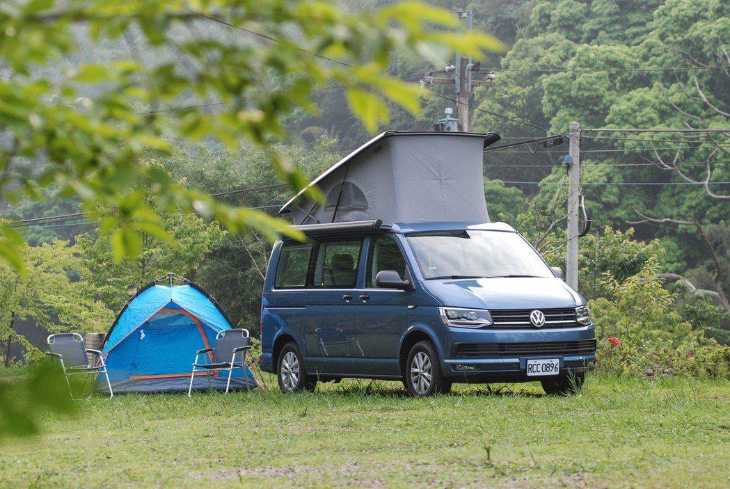 此次試駕的車款為VWCV California Beach 露營車,實際開去露營...