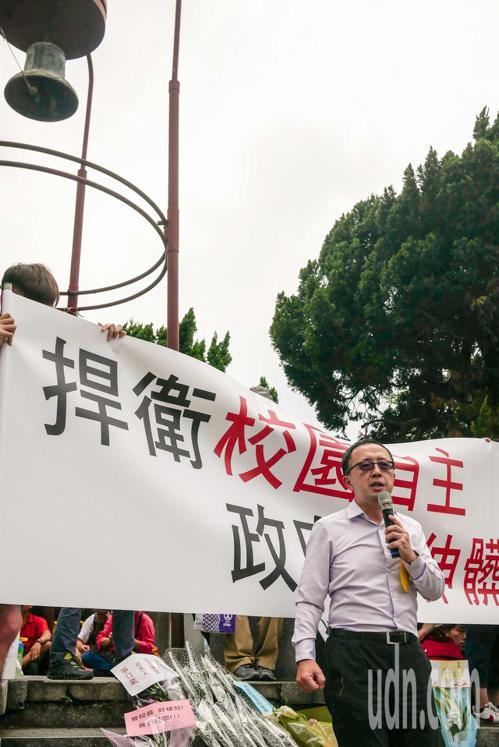 台大政治系教授蘇宏達。記者林良齊/攝影