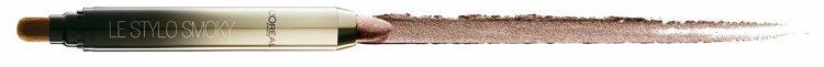 巴黎萊雅眼藝大師2 in 1眼影膠筆一筆兼具防油防水的柔滑質地眼線膠與設計師訂製...
