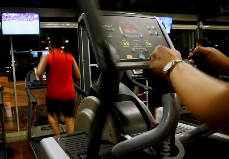 定期運動有益健康。(圖/路透)