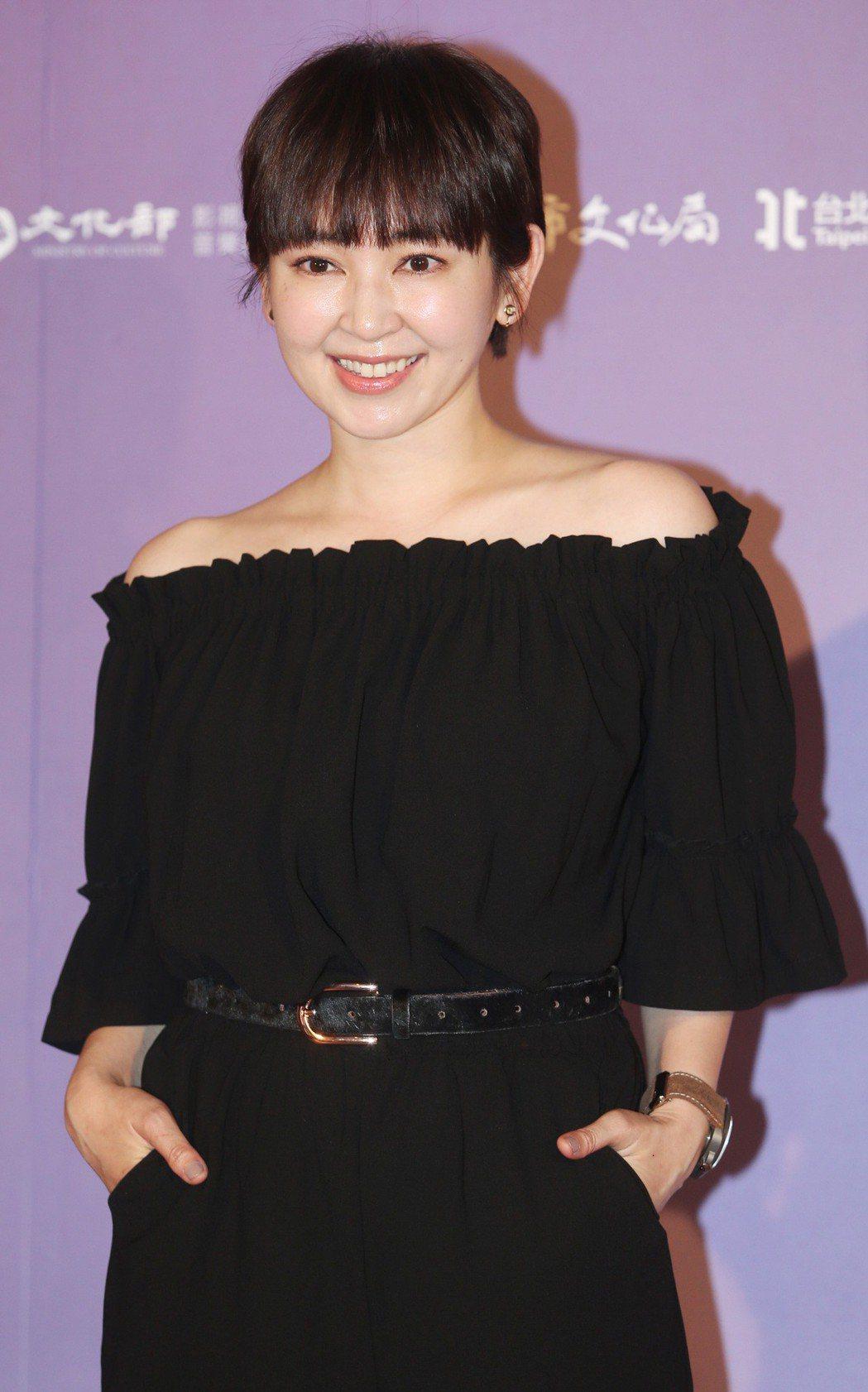 2018台北電影節形象廣告演員蔡燦得出席發布會。記者侯永全/攝影