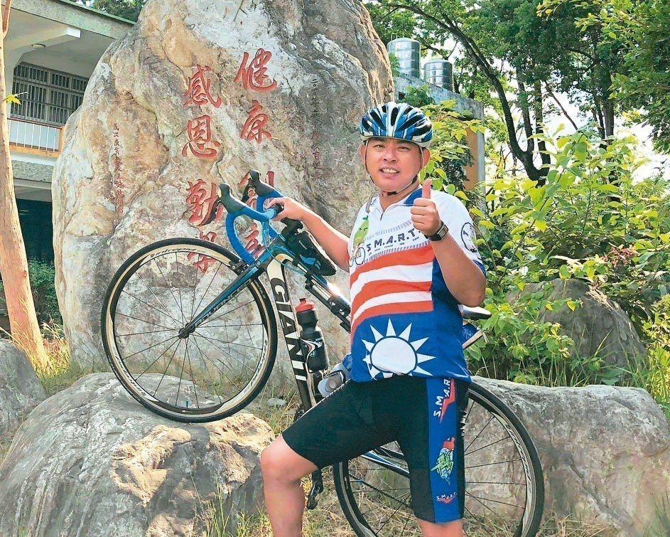 麻豆國中老師高榮宗獲選為教育部杏壇芬芳獎殊榮,下月將接受表揚。 圖/高榮宗提供