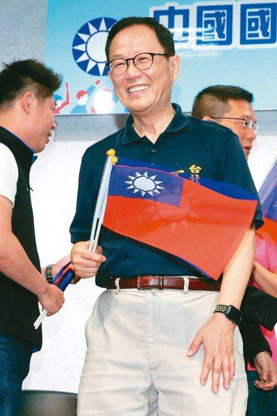 2018年國民黨台北市長候選人初選民調結果出爐,丁守中勝出。 記者胡經周/攝影