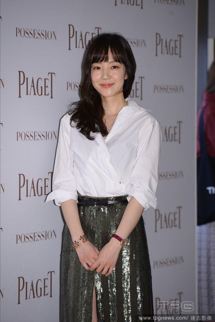 韓國女星林秀晶。圖/達志影像