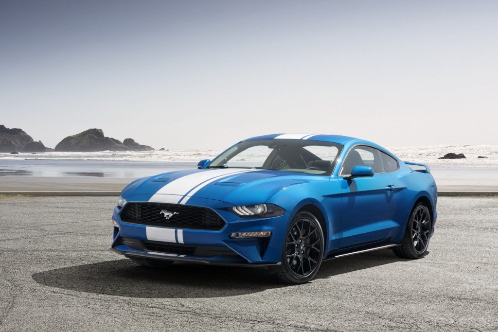 Ford Mustang EcoBoost。 摘自Ford