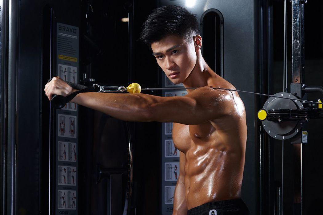 賈斯汀(Justin)教練期望台灣的健身風氣可以往正確的方向前進。齊石傳播/提供