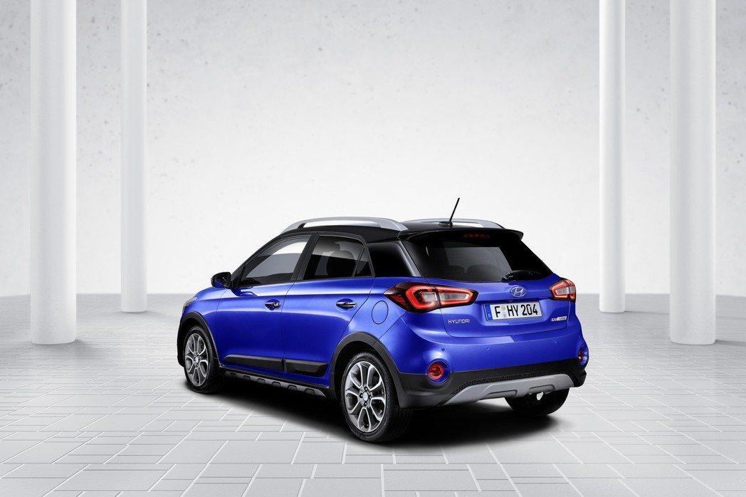 圖為小改款Hyundai i20 (Active跨界車型)。 摘自Hyundai