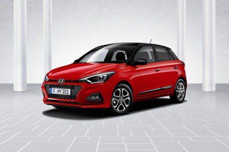 Hyundai歐洲暢銷小車 i20小改款正式亮相