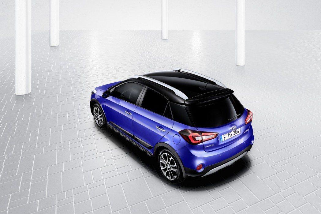 小改款Hyundai i20提供Two-Tone配色。 摘自Hyundai