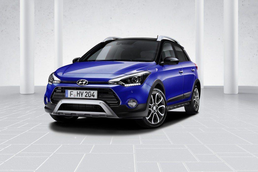 圖為小改款Hyundai i20(Active跨界車型)。 摘自Hyundai