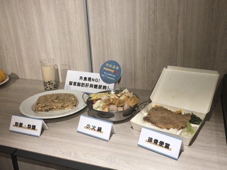 外食族必須慎選食物,如果常吃高油、高熱量食物,恐將脂肪肝上身。記者李樹人/攝影
