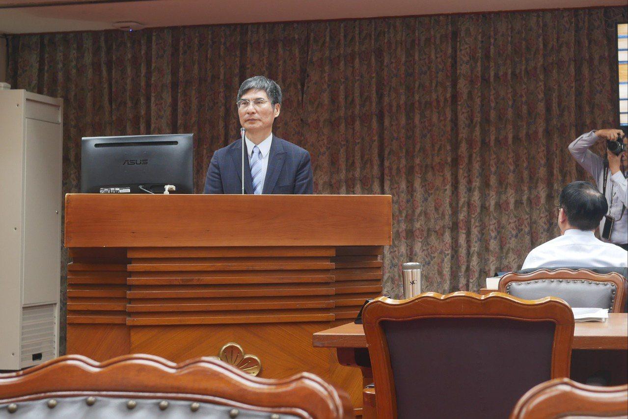 科技部長陳良基。記者林良齊攝影