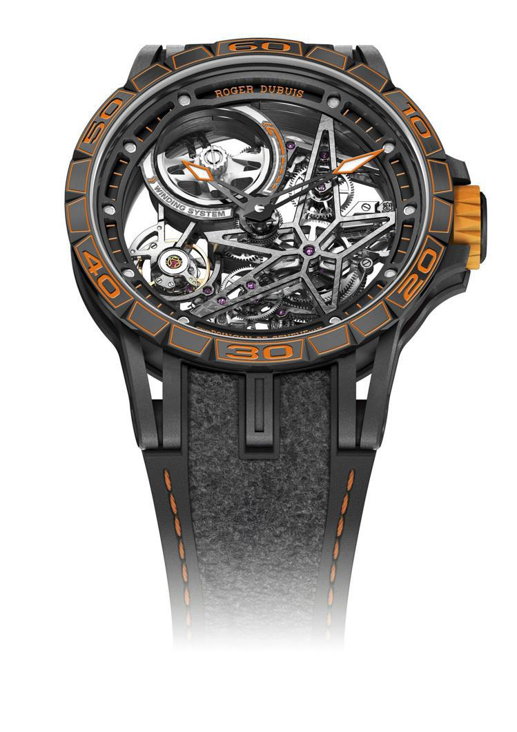 全球首次曝光的 Superhard Orange 橘色限量款 Excalibur...