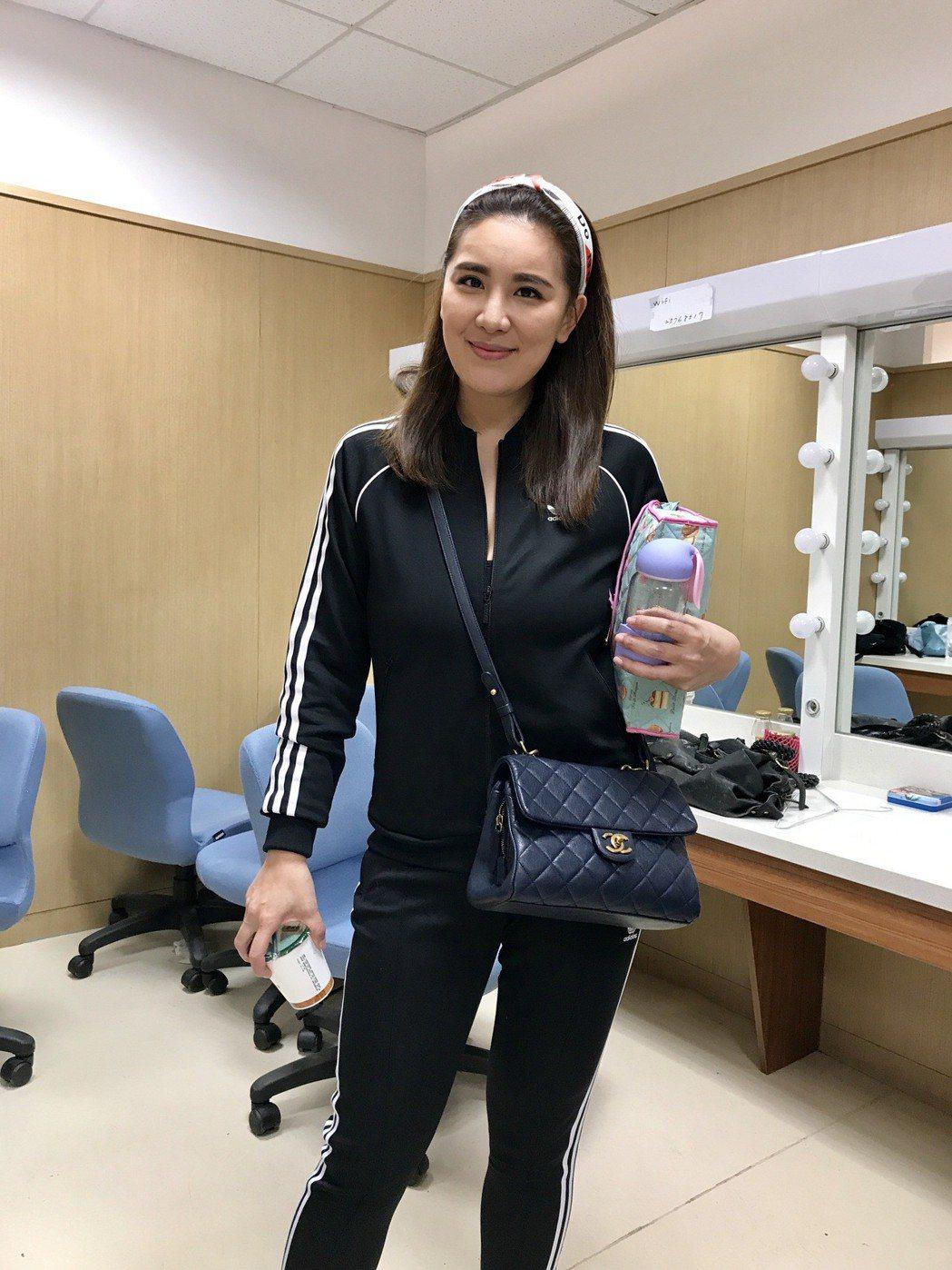小禎瘦身成為很多人減肥的動力,她拍完戲立刻想上健身房。記者葉君遠攝影