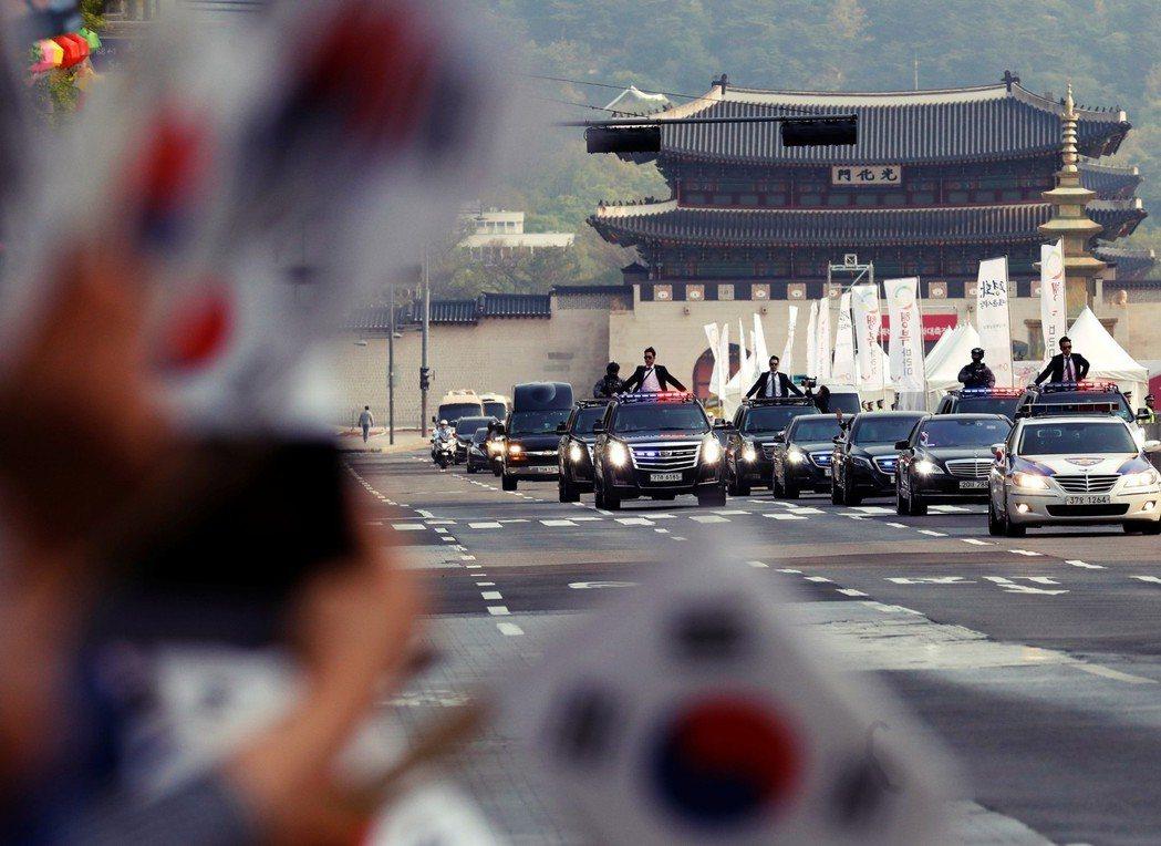 「我離板門店只有不到52公里,所以只花1小時。」文在寅回答。也由於首爾離兩韓邊境...