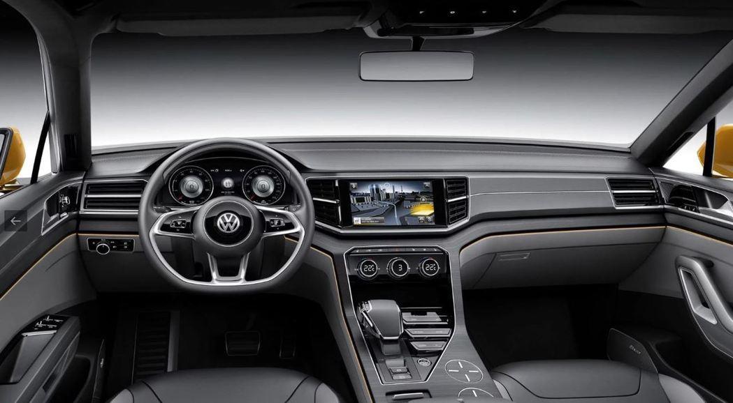 未來Tiguan Coupe內裝將不會有太大變動。 摘自Volkswagen