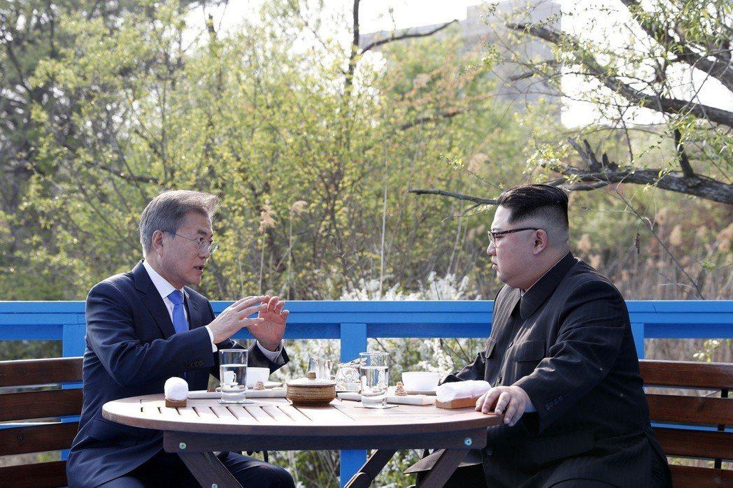 文在寅:「那些核子設施也…」「相互共有」「川普」「已經確認」 圖/兩韓峰會共同採...