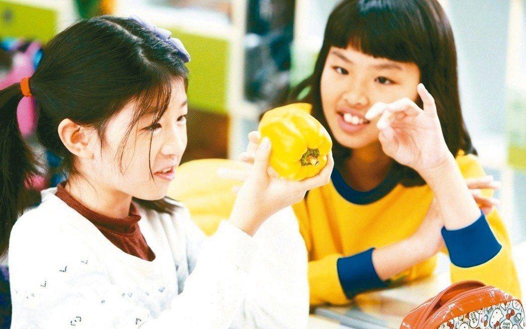 董氏基金會發現有小五、小六學生拿到橘子、百香果時,不會剝皮、挖果肉,建議教育部應...