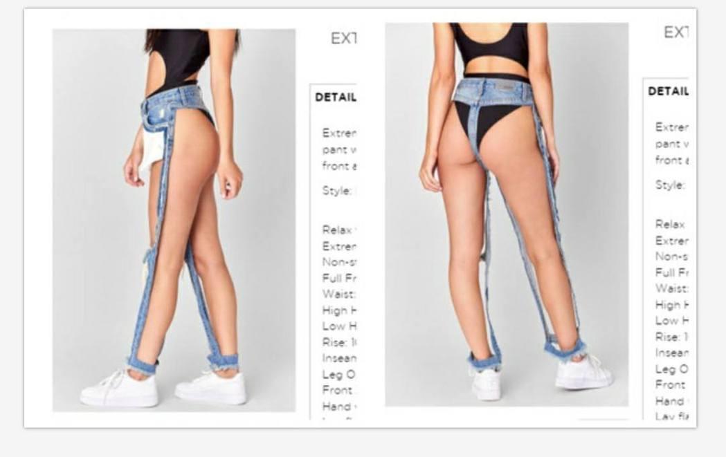Jolin分享的「辣味機場時尚」尺度頗大。圖/擷自臉書