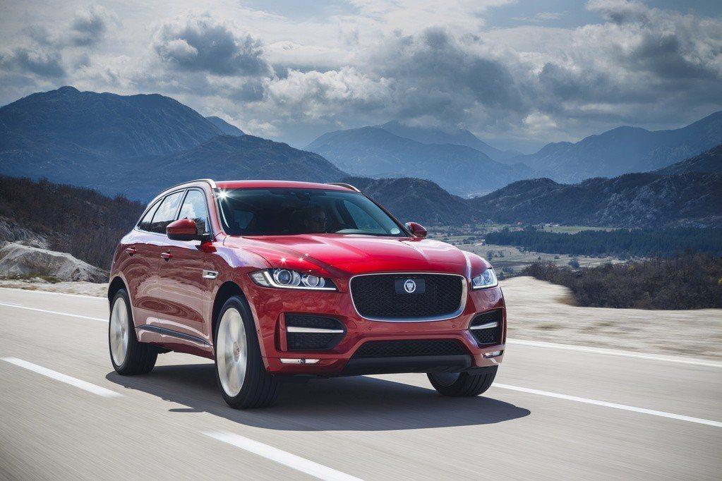圖為Jaguar F-Pace。 摘自Jaguar