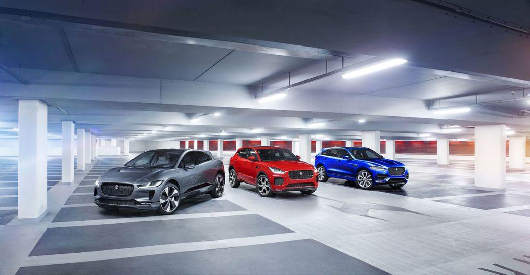 目前Jaguar旗下共有F-Pace、E-Pace與I-Pace三款休旅。 摘自...