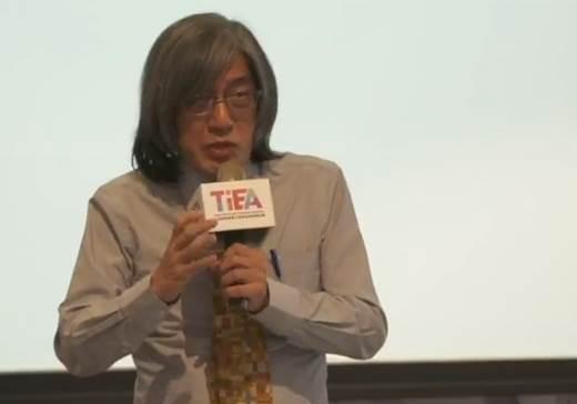 圖1:PChome董事長詹宏志 (圖片來源:台灣網路暨電子商務產業發展協會)
