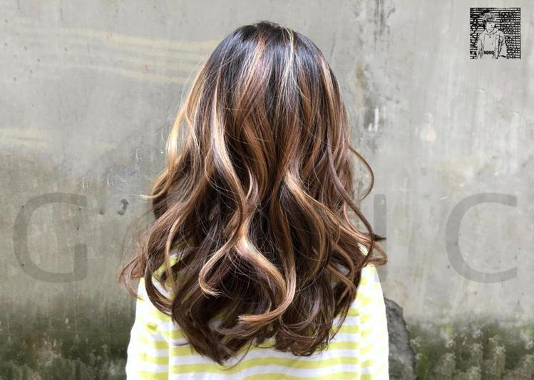 髮型創作/MoMo。圖/StyleMap提供