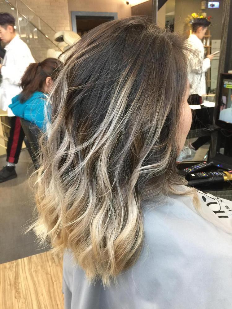 髮型創作/周彥凱。圖/StyleMap提供