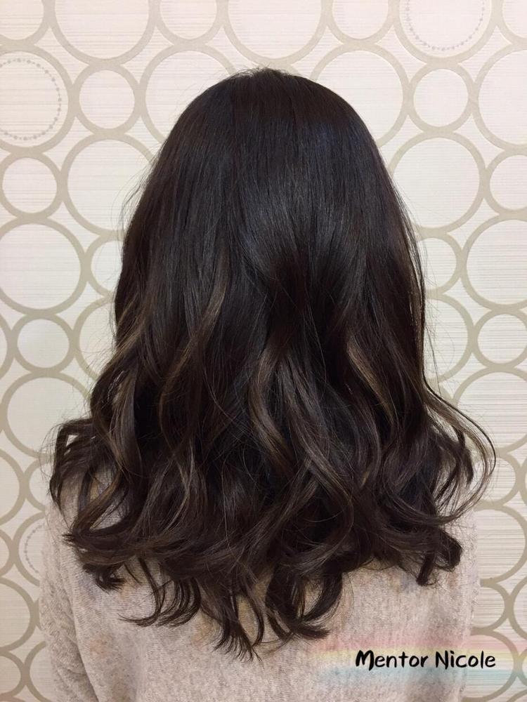 髮型創作/Nicole 鄭書宇。圖/StyleMap提供