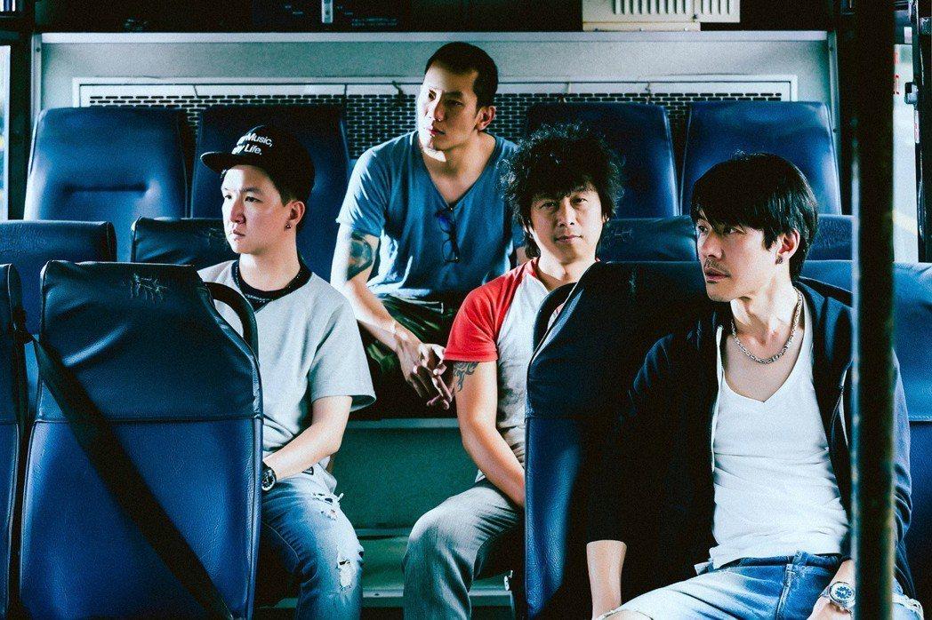 四分衛將於6月2日在台大體育館開唱。圖/闊思音樂提供