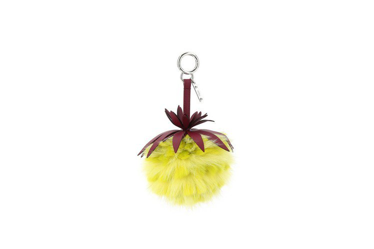 FENDI Fruits鳳梨,售價24,300元。圖/FENDI提供