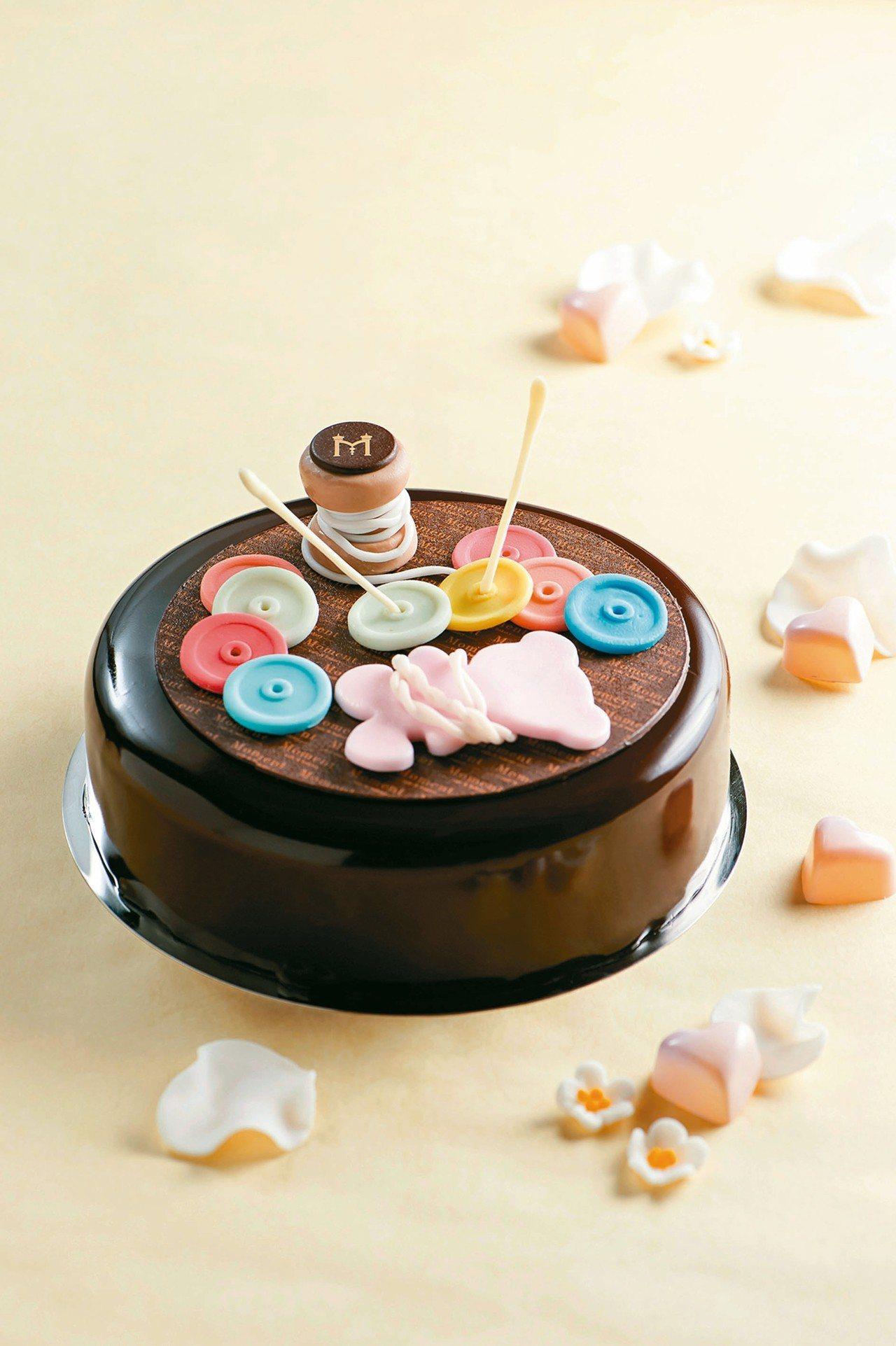 母親節蛋糕「心繫遊子」。 圖/台北美福大飯店提供