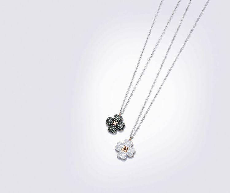 施華洛世奇 Latisha 項鍊,4,990元,兩面皆可配戴。圖/施華洛世奇提供